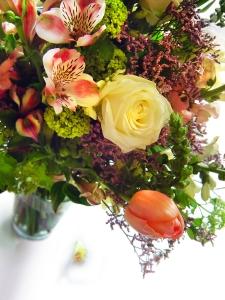 Bukiet kwiatów duży